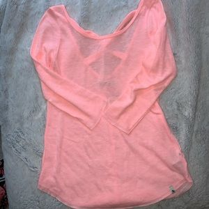 NWT abercrombie & fitch 3/4 sleeve tops